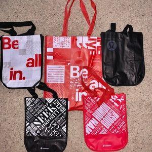 Reusable Lululemon Tote Bags